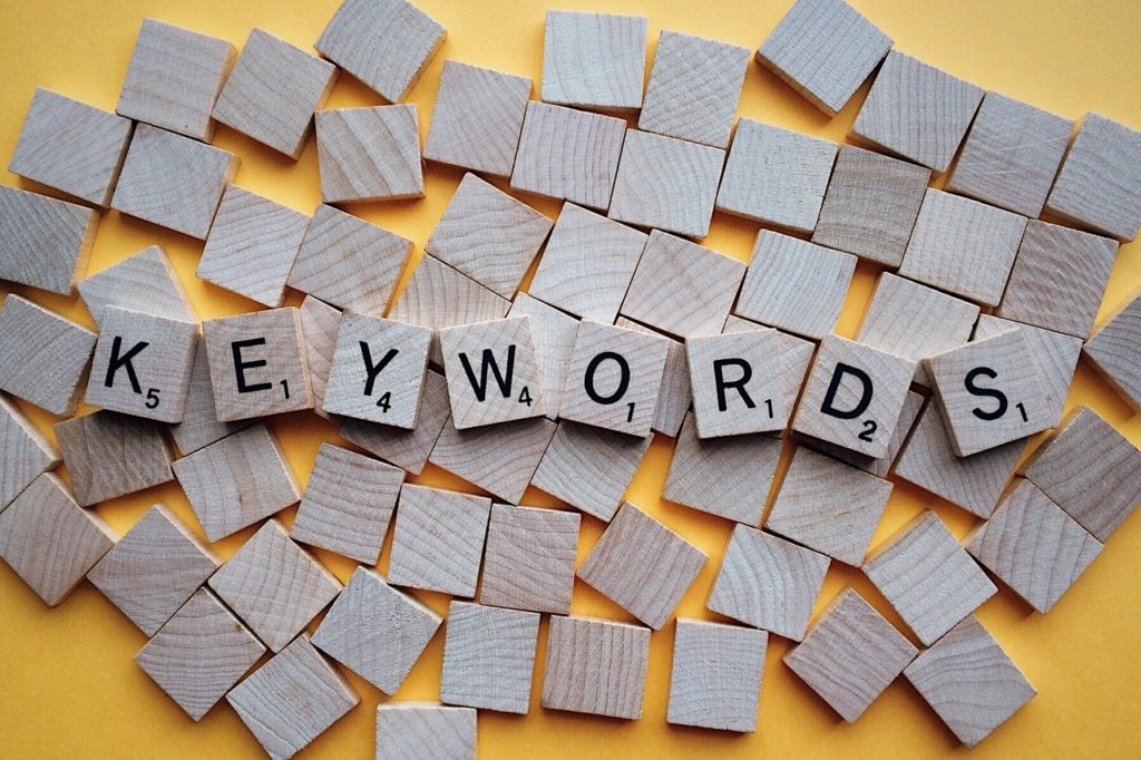 Add keywords to LinkedIn